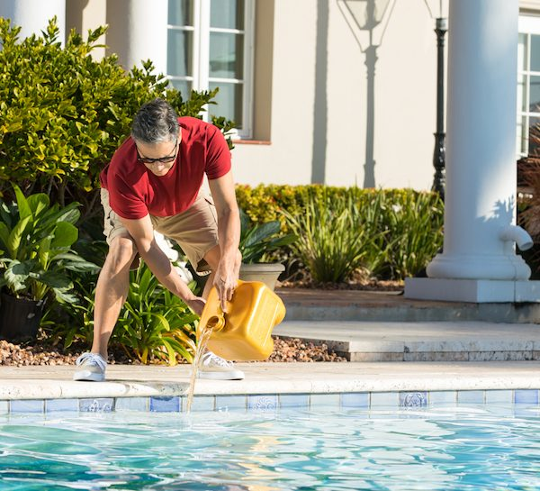 Four Effective Ways to Clean a Green Swimming Pool